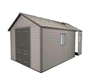 Lifetime 11ft x 16ft Apex Plastic Shed