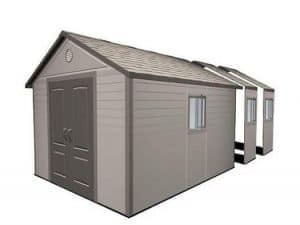 Lifetime 11ft x 21ft Apex Plastic Shed