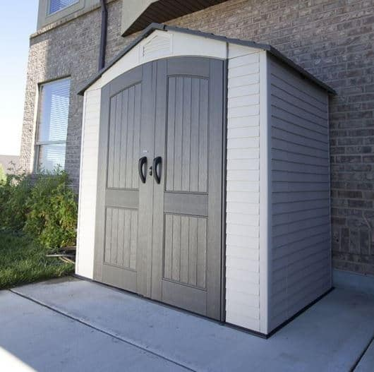Lifetime 7 x 4.5 Apex Plastic Shed