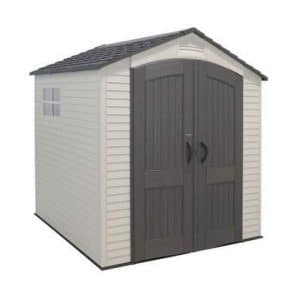 Lifetime 7' x 7' Apex Plastic Shed