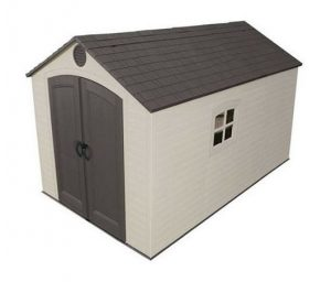 Lifetime 8ft x 12.5ft Apex Plastic Shed