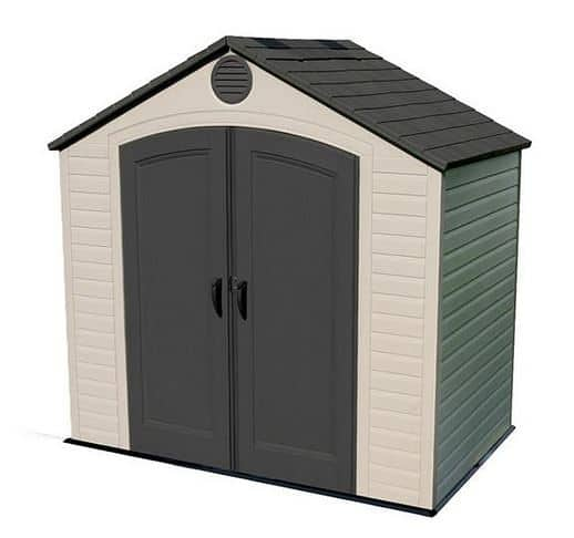 Lifetime 8ft x 5ft Apex Plastic Shed
