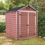 Palram Skylight 6 x 5 Amber Plastic Shed