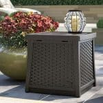 Suncast Deck Box Side Table