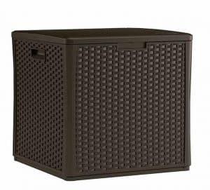 Suncast Deck Box Storage Cube Overall View