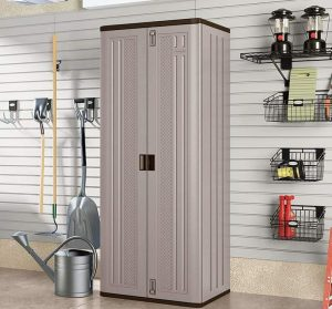 Suncast Tall Cabinet Grey