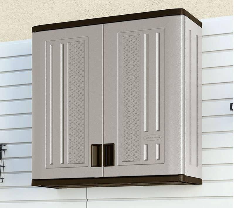 Suncast Wall Cabinet Grey