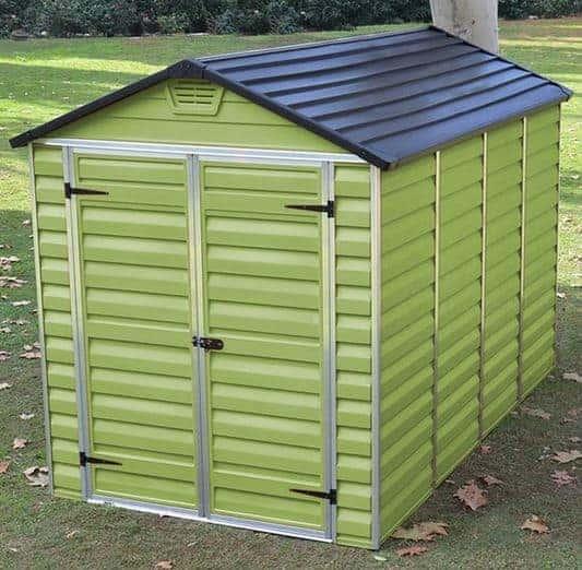 Waltons 6 x 10 Green Skylight Plastic Shed