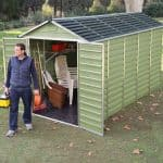 Waltons 6 x 12 Green Skylight Plastic Shed