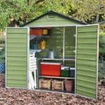 Waltons 6 x 3 Green Skylight Plastic Shed