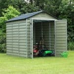 Waltons 6 x 8 Green Skylight Plastic Shed