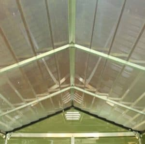 Waltons 6 x 8 Green Skylight Plastic Shed Roofing