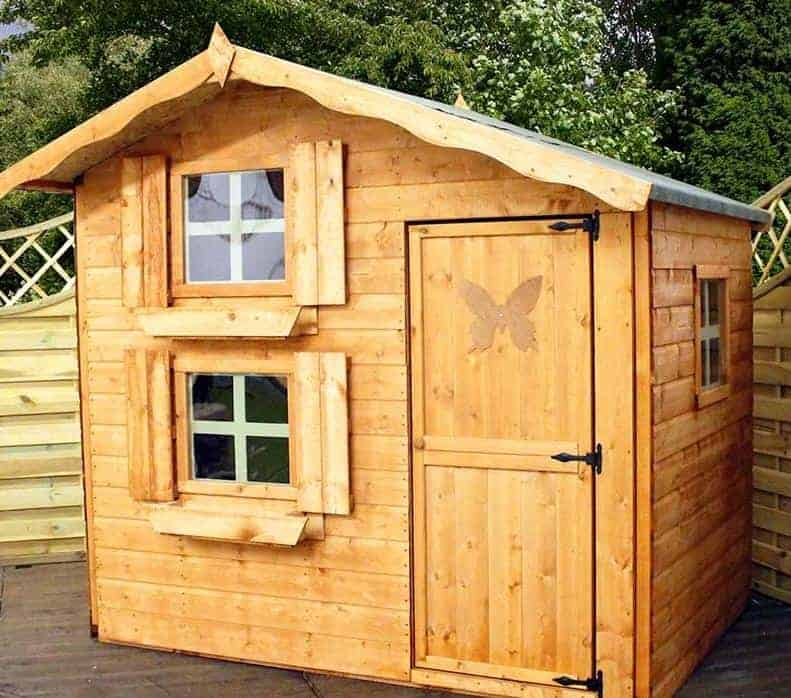 Windsor Snowdrop Cottage Playhouse - 5' x 7'