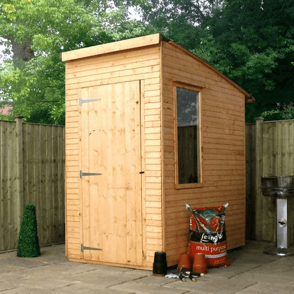 Woodland Trust 6 x 4 Kurva Curved Roof Shed - What Shed