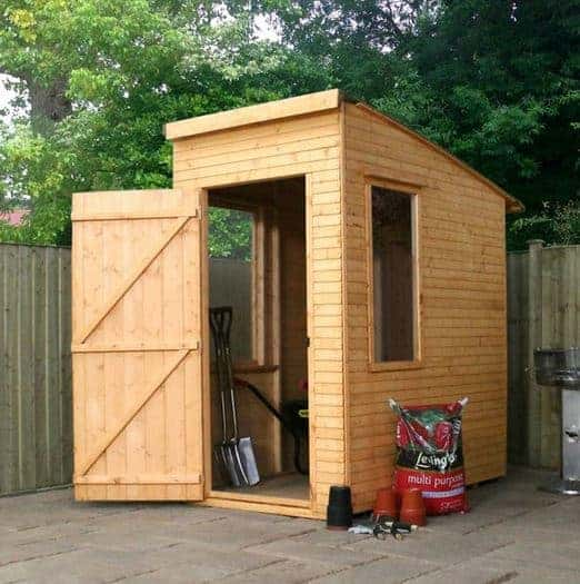 Woodland Trust 6 x 4 Kurva Curved Roof Shed