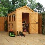 Woodland Trust 8 x 6 Heritage Apex Garden Shed