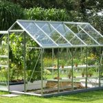 10 x 6 Vitavia Venus 6200 Silver Apex Greenhouse