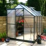 10 x 6 Waltons Green Extra Tall Polycarbonate Greenhouse
