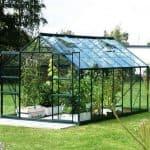 10 x 8 Vitavia Jupiter 8300 Green Apex Greenhouse