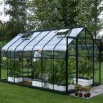10 x 8 Vitavia Saturn 8300 Green Apex Greenhouse