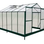 10 x 8 Waltons Green Extra Tall Polycarbonate Greenhouse