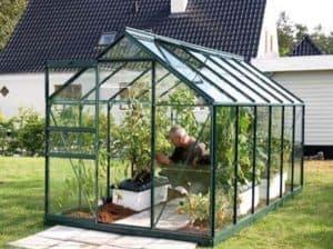 12 x 6 Vitavia Venus 7500 Green Apex Greenhouse