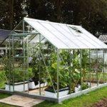 12 x 8 Vitavia Neptune 9900 Silver Apex Greenhouse