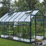 12 x 8 Vitavia Saturn 9900 Green Apex Greenhouse