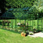 14 x 8 Halls Green Aluminium Magnum Greenhouse with Vent
