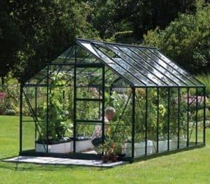 14 x 8 Vitavia Neptune 11500 Green Apex Greenhouse