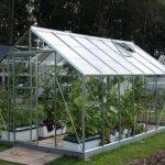 14 x 8 Vitavia Neptune 11500 Silver Apex Greenhouse