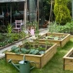 1500 x 900 x 600 Waltons Standard Wooden Raised Bed