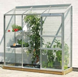 2' x 6' Vitavia Ida 1300 Silver Greenhouse
