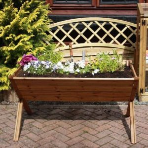 4 x 2 Waltons Pressure Treated Wooden Vegetable Trough