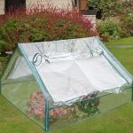 4' x 4' Large Apex PVC Cold Frame