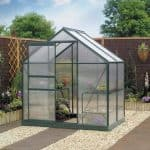 4 x 6 Gardman Polycarbonate Greenhouse