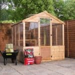 4 x 6 Waltons Evesham Wooden Greenhouse