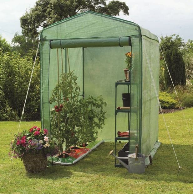6 x 4 Gardman Walk-in-Greenhouse
