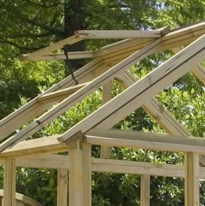 6 x 4 Waltons Pressure Treated Wooden Greenhouse Roof
