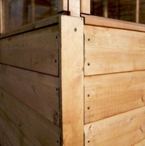 6 x 6 Waltons Evesham Wooden Greenhouse Cladding