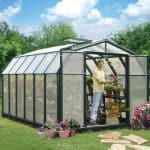 8 x 12 Rion Hobby Gardener Polycarbonate Greenhouse