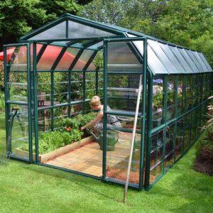 8 x 16 Rion Grand Gardener Polycarbonate Greenhouse