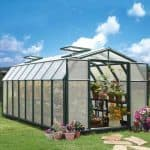 8 x 16 Rion Hobby Gardener Polycarbonate Greenhouse