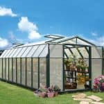 8 x 20 Rion Hobby Gardener Polycarbonate Greenhouse