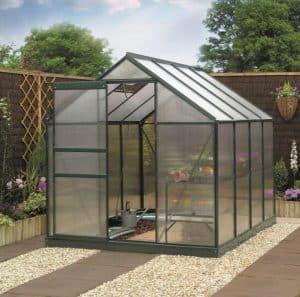 8 x 6 Gardman Polycarbonate Greenhouse