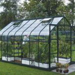 8 x 6 Vitavia Saturn 5000 Green Apex Greenhouse