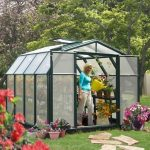 8 x 8 Rion Hobby Gardener Polycarbonate Greenhouse