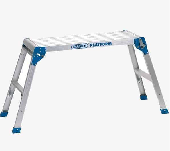 Drapers 2 Step Aluminium Working Platform