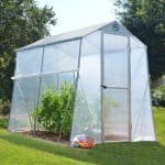 Palram 6 x 8 Allegro Portable Aluminium Greenhouse