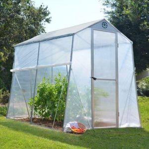 Palram 6 x 8 Allegro Portable Aluminium Greenhouse